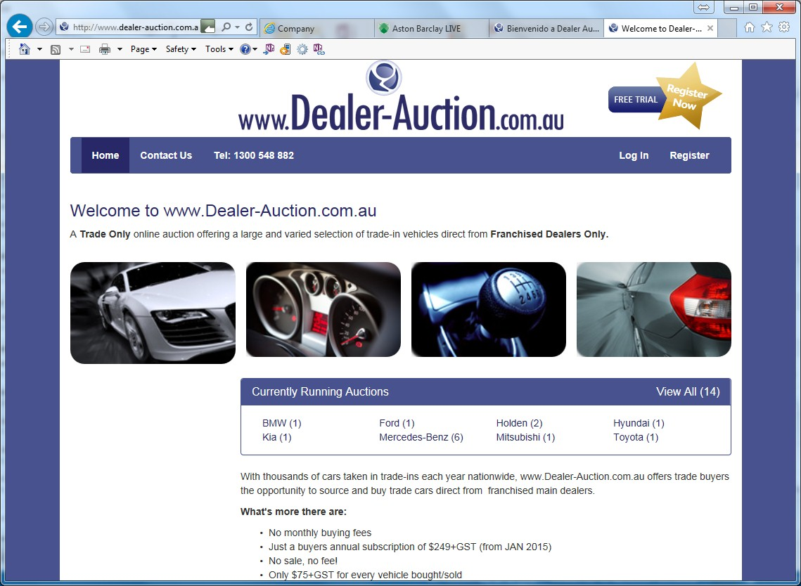 Dealer Auction launches in Australia
